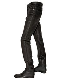 Dior Homme | Black 19cm Holy Night Coated Jeans for Men | Lyst