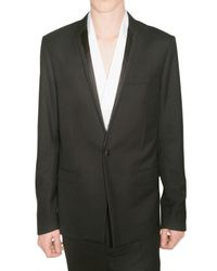 Dior Homme | Black Wool Smoking Jacket for Men | Lyst