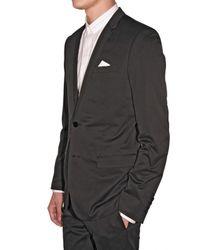 Dior Homme | Black Satin Cotton Suit for Men | Lyst