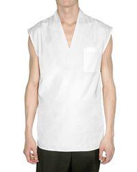 Dior Homme | White Light Cotton Poplin Shirt for Men | Lyst