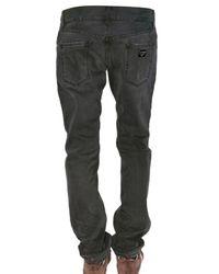 Dolce & Gabbana   Black 19cm Gold Washed Denim Jeans for Men   Lyst