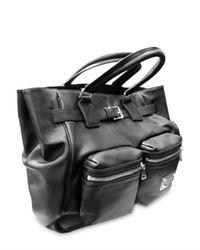 Dolce & Gabbana - Black Washed Nappa Top Handle - Lyst