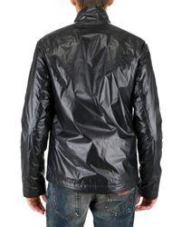 Dolce & Gabbana - Black Zipped Nylon Jacket for Men - Lyst