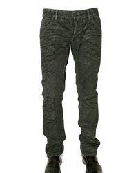 DSquared² | Black Glitter Slim Denim Jeans for Men | Lyst