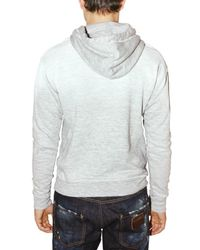 DSquared² - White Destroyed Fleece M. Fuckers Sweatshirt for Men - Lyst