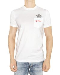 DSquared² | White Gigolo Jersey T-shirt for Men | Lyst