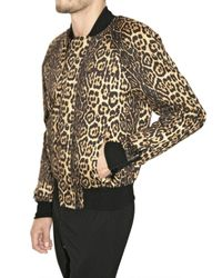 Givenchy   Multicolor Cotton Gabardine Bomber Jacket for Men   Lyst