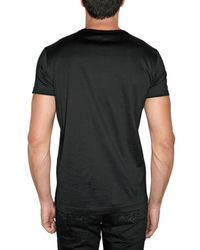John Richmond | Black Skull Candy Jersey T-shirt for Men | Lyst