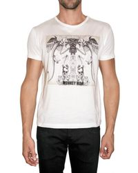 John Richmond | White Monkey Man T-shirt for Men | Lyst