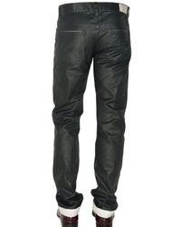 Marc Jacobs - Black 19cm Coated Denim Regular Fit Jeans for Men - Lyst