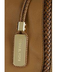 Michael Kors - Brown Skorpios Leather Messenger Bag - Lyst