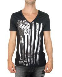 Philipp Plein | Black 'philipp Tour' T-shirt for Men | Lyst