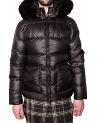 Pyrenex | Black Fox Fur Hooded Sport Jacket for Men | Lyst