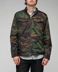 RVCA | Green Camo Bay Breaker Ii for Men | Lyst
