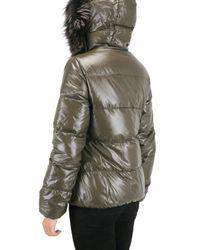 Duvetica - Brown Adhara Fur Down Jacket - Lyst