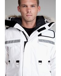 Canada Goose - Resolute White Parka for Men - Lyst