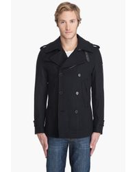 DIESEL | Black Wittor Peacoat for Men | Lyst