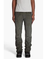 DIESEL | Natural Larkee Corduroy Pants for Men | Lyst