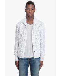DIESEL - Gray K-gage Sweater for Men - Lyst