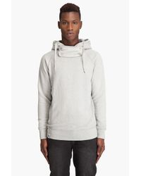 DIESEL | Gray Sazul-r Sweatshirt for Men | Lyst