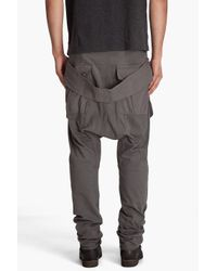 DRKSHDW by Rick Owens - Gray Combo Pants for Men - Lyst