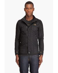 G-Star RAW | Black Modern Flight Overshirt for Men | Lyst