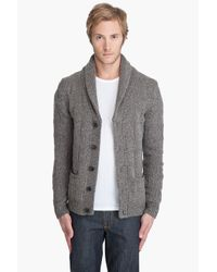 J.Lindeberg - Brown Roch Cardigan for Men - Lyst