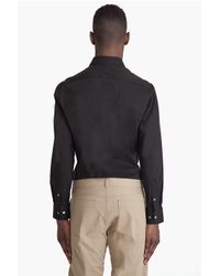 Theory - Black Marco P Arrow Shirt for Men - Lyst