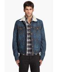 True Religion | Blue Jimmy Sharp A Jacket for Men | Lyst