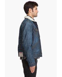 True Religion - Blue Jimmy Sharp A Jacket for Men - Lyst
