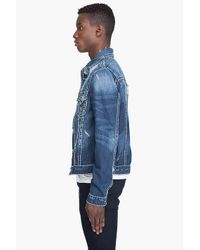 True Religion - Blue Jimmy Super T Jacket for Men - Lyst