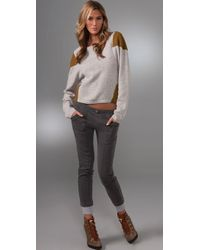 American Retro - Gray Micah Sweater - Lyst