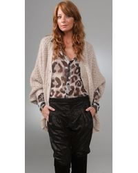 By Malene Birger | Natural Sucio Dolman Sleeve Cardigan | Lyst