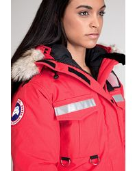 Canada Goose - Resolute Red Parka - Lyst