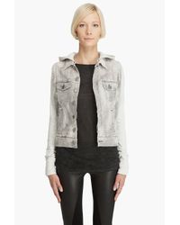 Citizens of Humanity - Gray Hersher Jacket W/studs - Lyst