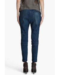 Current/Elliott - Blue The Pilot Trouser Jeans - Lyst