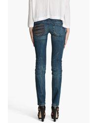 DIESEL - Blue Matic Jeans - Lyst