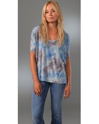 Free People | Blue We The Free Tie Dye Tee | Lyst