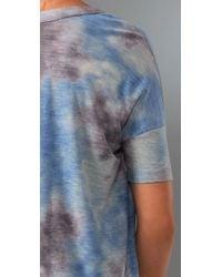 Free People - Blue We The Free Tie Dye Tee - Lyst