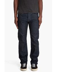 G-Star RAW | Blue Victor Straight Jeans for Men | Lyst