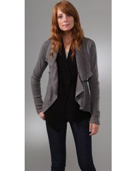 Jamison - Gray Terence Sweater Jacket - Lyst