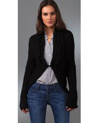 Jarbo - Black Cable Shrug - Lyst