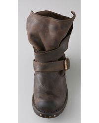 Jeffrey Campbell - Brown Brit Wrap Strap Booties - Lyst