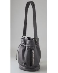 Khirma Eliazov - Gray Sinclair Bucket Bag / Backpack - Lyst