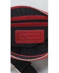L.A.M.B. - Red Trademark Sophia - Mini Crossbody Bag - Lyst