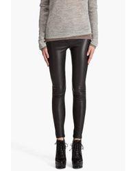 Mackage | Black Leather Leggings | Lyst