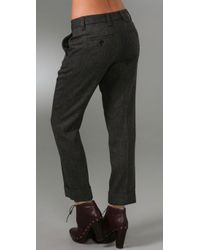 Marc By Marc Jacobs - Gray Reilly Herringbone Pants - Lyst