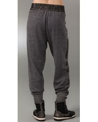 Marc By Marc Jacobs - Gray Zenith Sweater Pants - Lyst