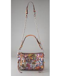 Nanette Lepore - Multicolor Metallic Floral Chain Clutch - Lyst