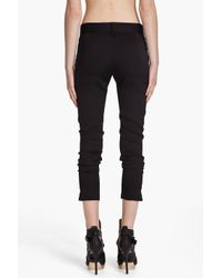 Rag & Bone - Black Liverpool Stretch-jersey Pants - Lyst